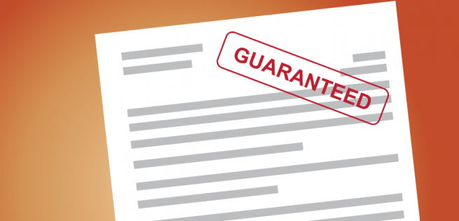 What is a personal guarantee?