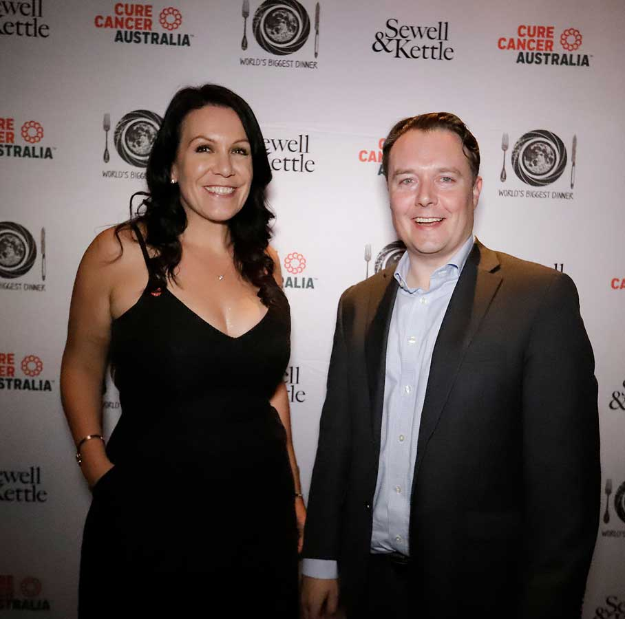 ure Cancer CEO Nikki Kinloch and Firm Principal Ben Sewell